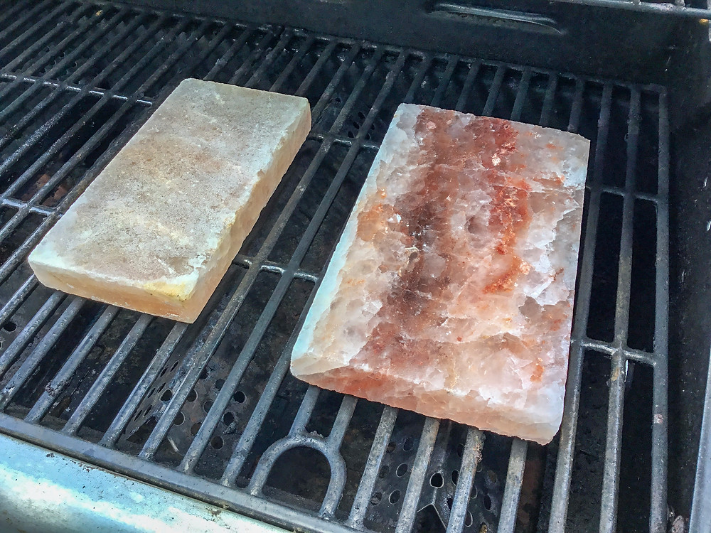 cooking with salt, salt blocks