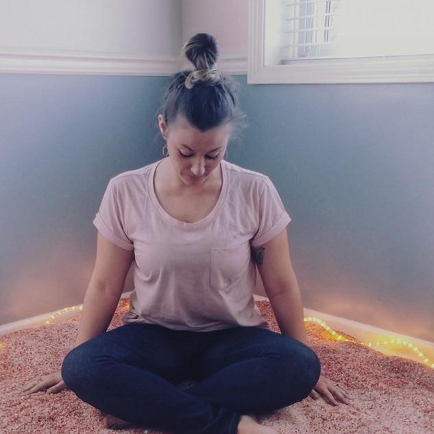 Meditation in the Salt Room