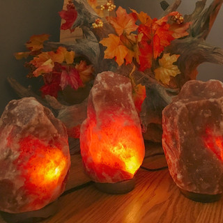 Deep Red Lamps