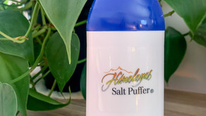 It's Allergy season – Stop by the Salt Oasis to pick up your Himalayan Salt Puffer Today!