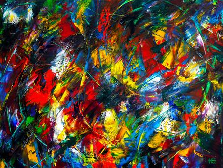 Meet the Artist: The Perky Painter