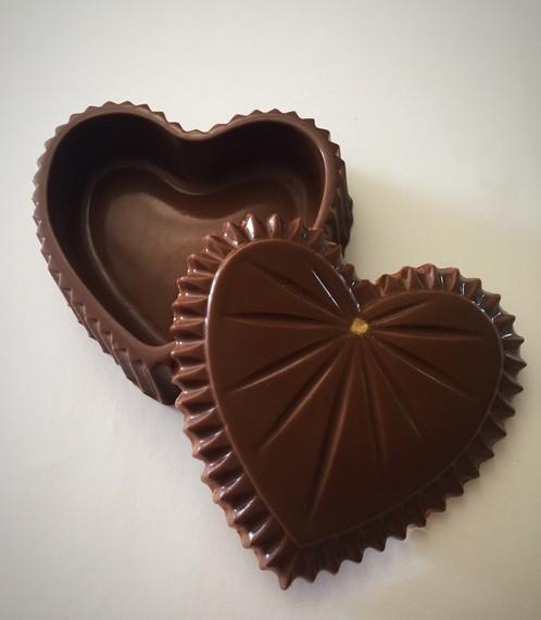 Heart Shaped Jewelry Box Chocolate Store Home My Chocolate