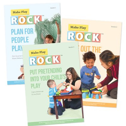Make Play R.O.C.K. ™ Booklet Series Combo Pack