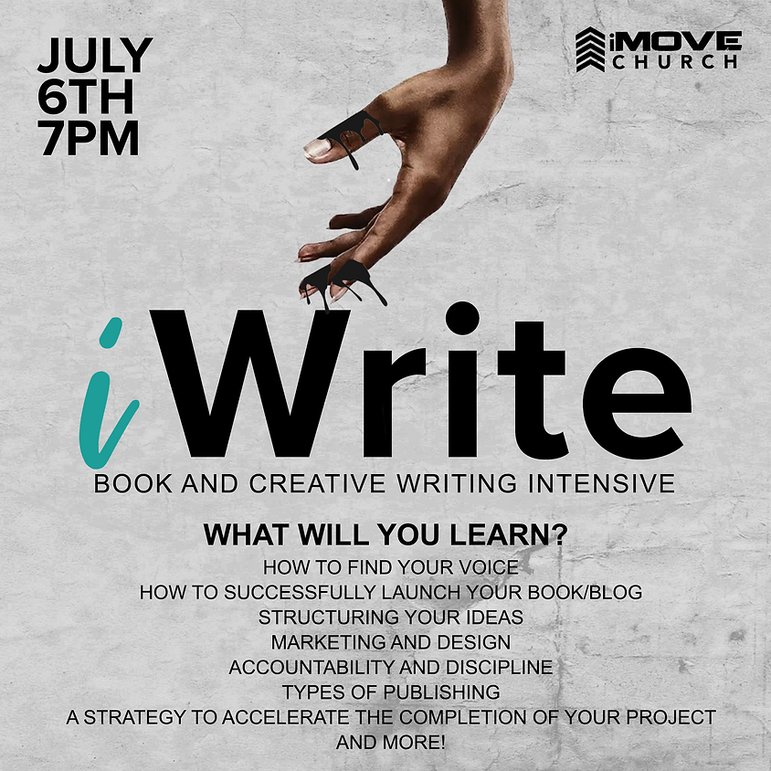 iWrite Book & Creative Writing Intensive