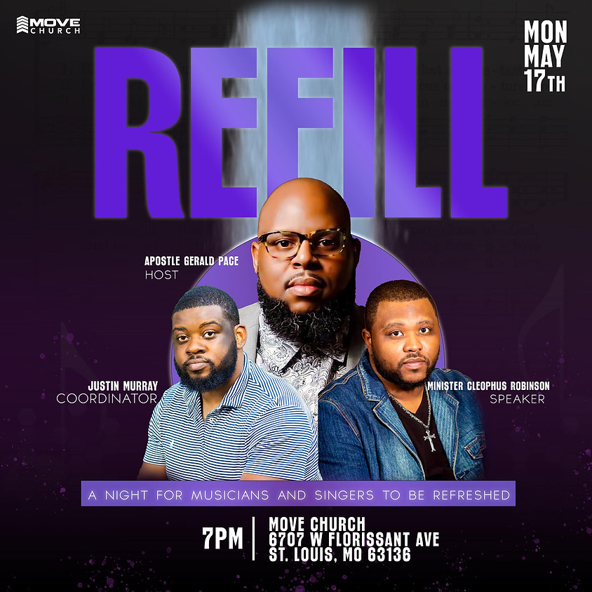 Refill - A Night for Musicians and Singers