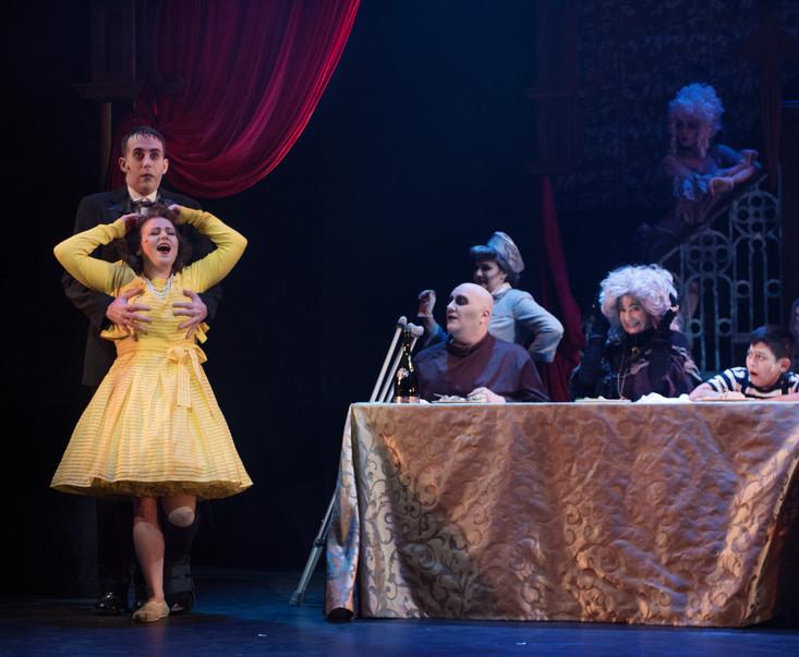 The Addams Family by Andrew Lippa, Marshall Brickman, and Rick Elice