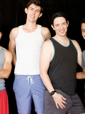 Jordan, Howie, James, and Danny