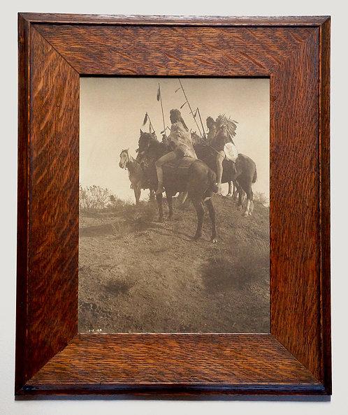 "Edward Curtis ""Spirit of the Past - Apsaroke"" Toned Platinum Photograph"