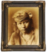 """A rare Edward S. Curtis ortone or goldtone photograph, """"Son of the Desert,"""" from the artist's Seattle studio, ca. 1917-1921."""