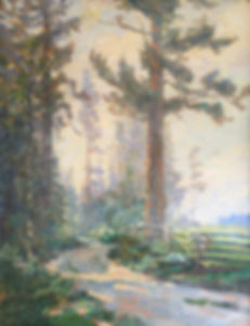 Paul Morgan Gustin Oil Paintng Whidbey Island