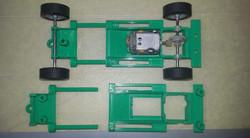 verstellbares Slotcar Chassis