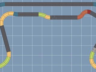 Testfahrt Eisenbahn & weitere Layout-Änderung