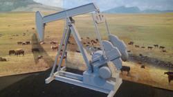 Pferdekopf-Pumpe