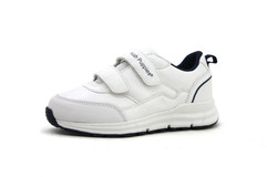 Chance Velcro_  White and Blue  - Kids S