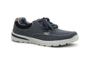 PERCH_NAVY PRINTING Shoe Wholesale by Oc