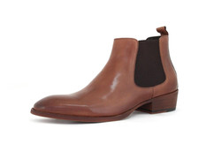 Bank Boot Tan Shoe Wholesale by Oceanic