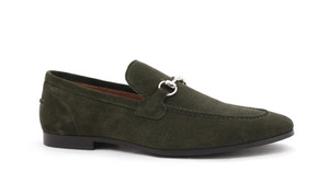 Allen Loafer Olive Shoe Wholesale by Oce