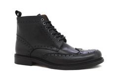 Brogue Boot Black Shoe Wholesale by Ocea