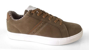 OB Sneaker with traditional application