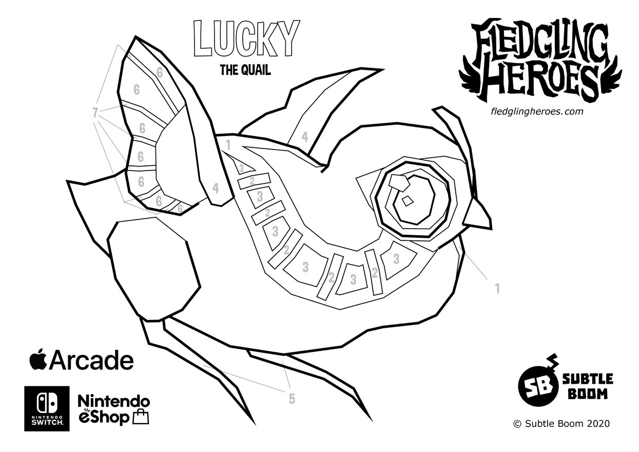 Fledgling Heroes - Lucky