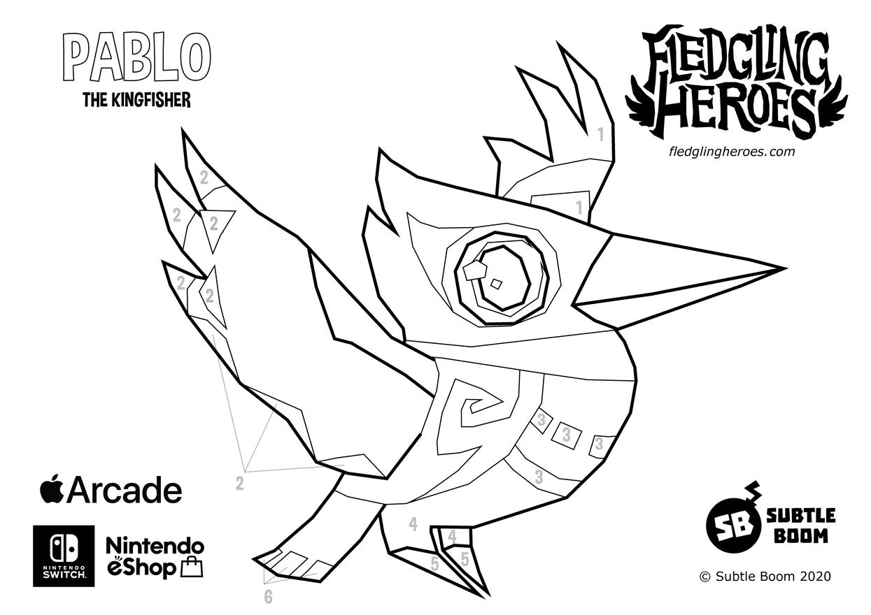 Fledgling Heroes - Pablo