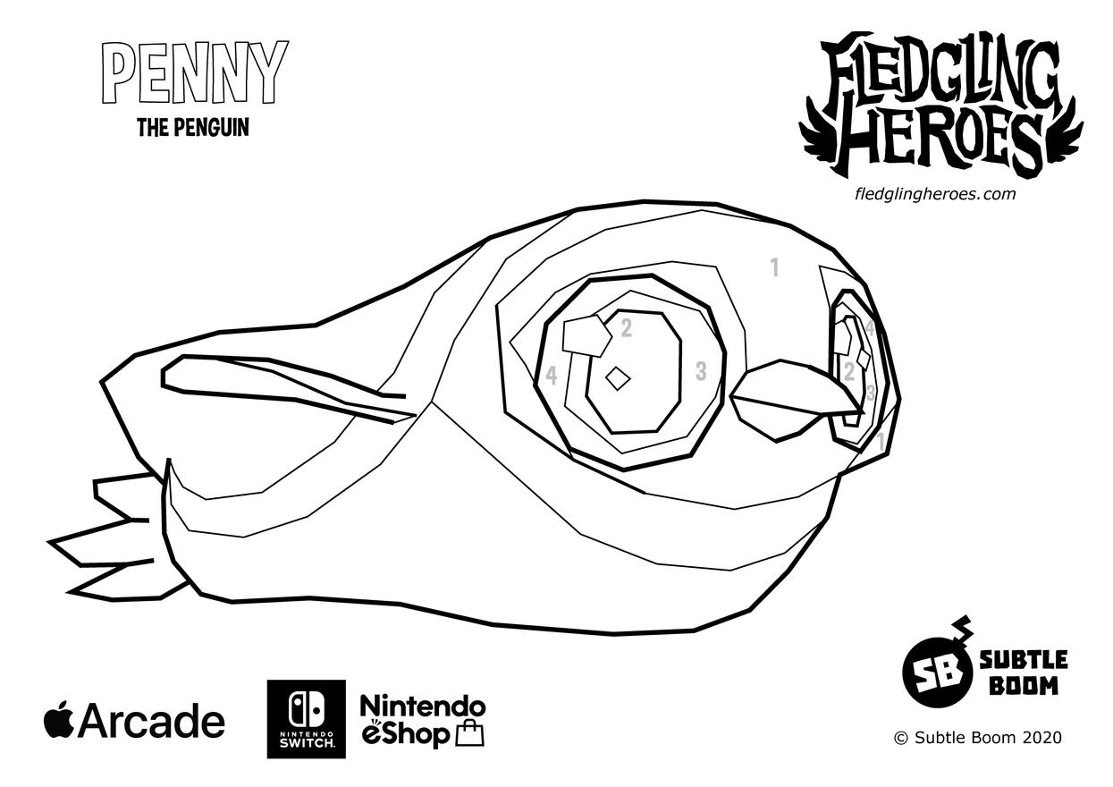 Fledgling Heroes - Penny