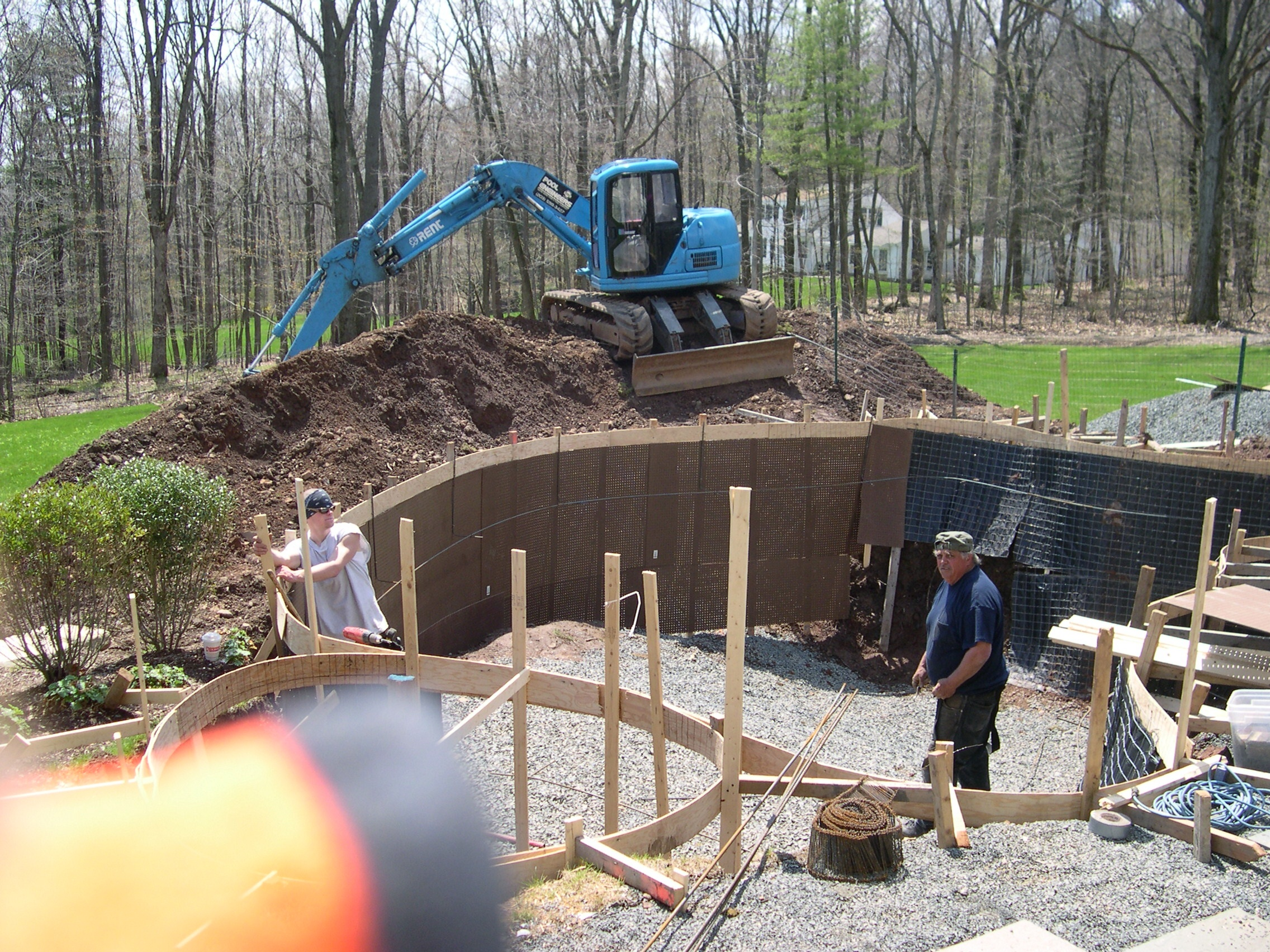 beginning pool constrution timeline connecticut pool and spa