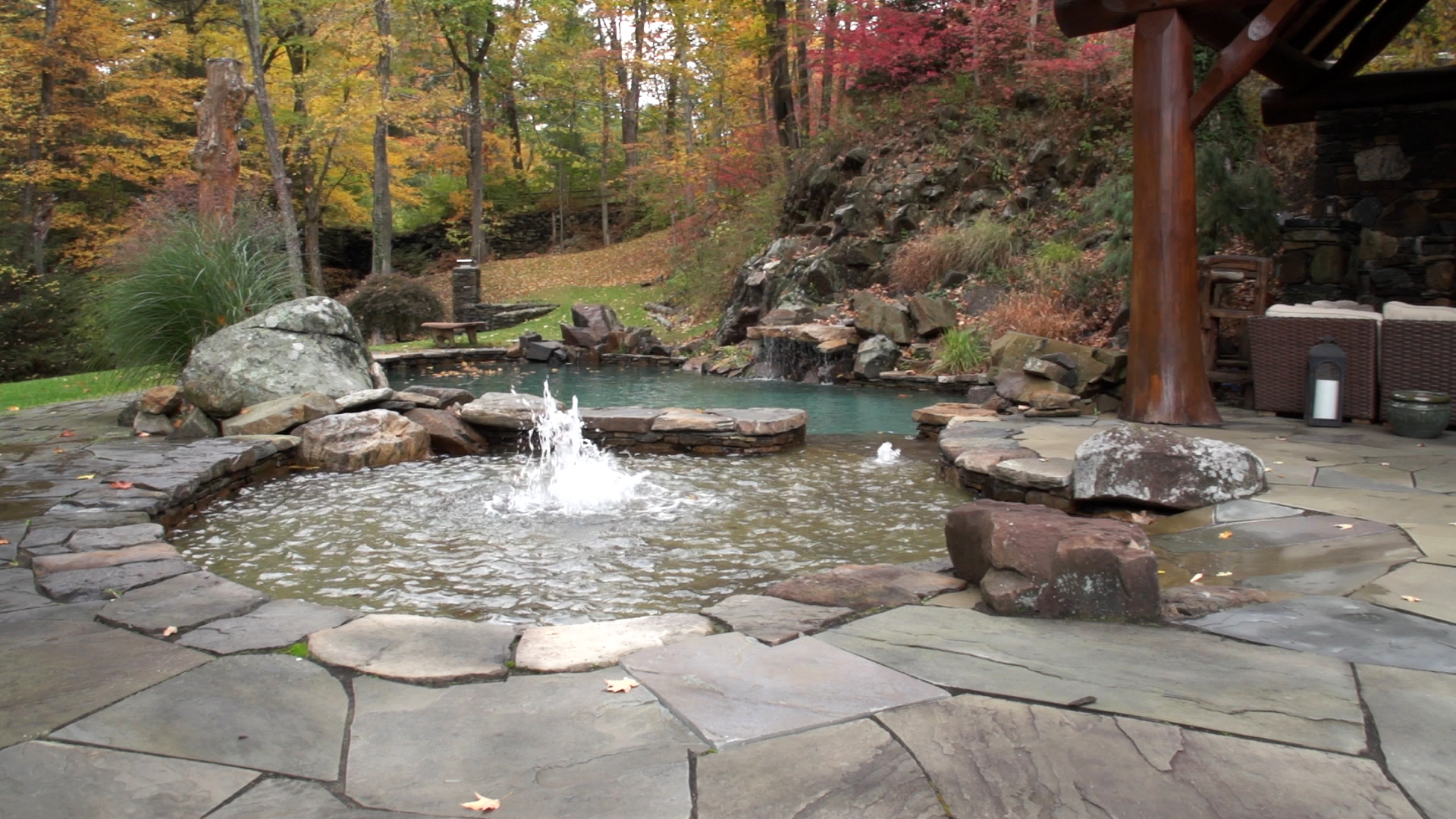 Connecticut Pool & Spa Water Features