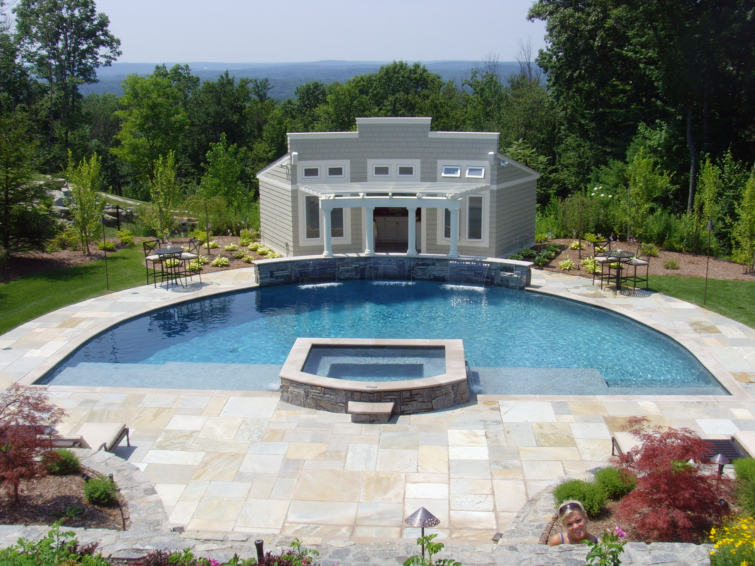 Custom Pool Avon - Connecticut Pool and Spa