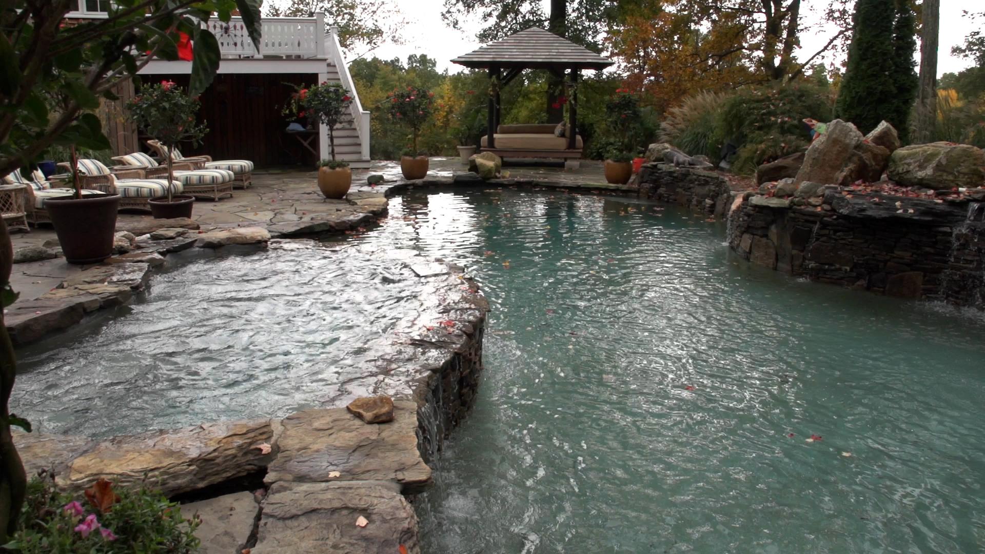 Connecticut Pool & Spa Natural Freeform Simsbury