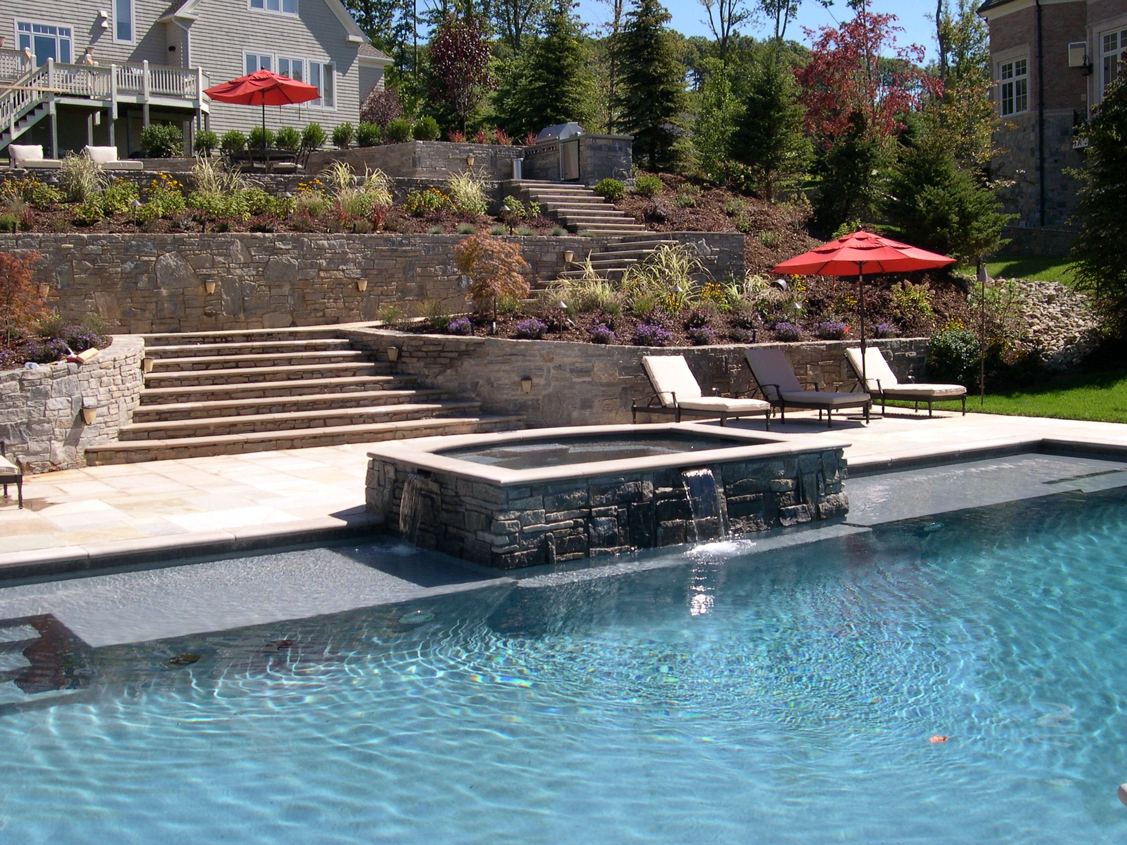 Custom Swimming Pool Hartford County - Connecticut Pool and Spa - Copy