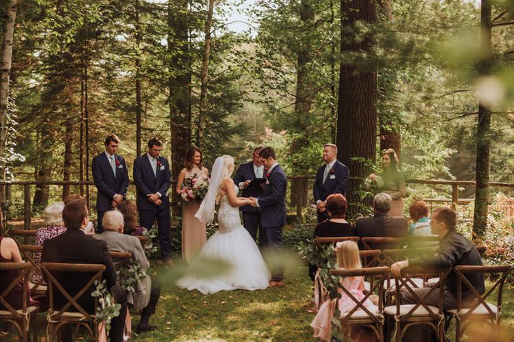 Brule River, Wisconsin Wedding
