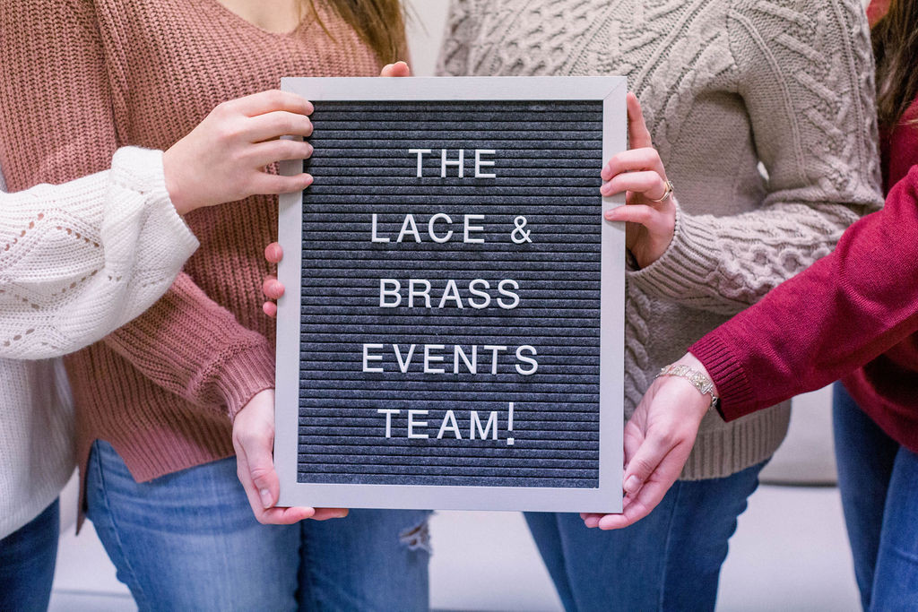 Lace & Brass Events Team