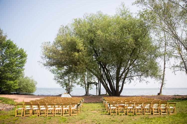 Bayfield Wisconsin Tented Wedding