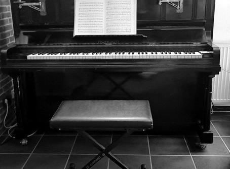 Das Klavierspiel erlernen als Analogie zum Leben. Erster Teil