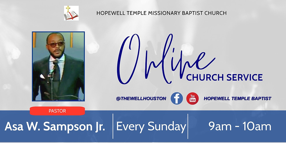 Sunday Morning Virtual Worship