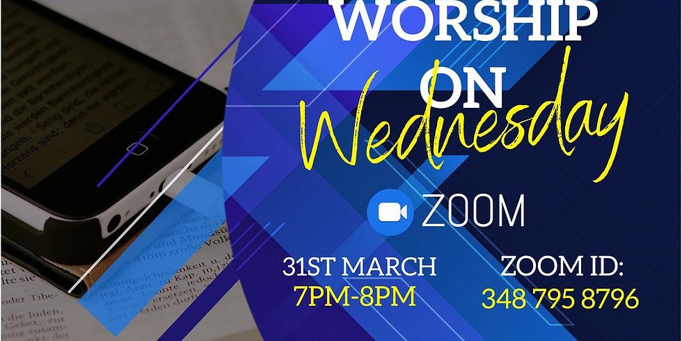 Worship on Wednesday - ZOOM Service