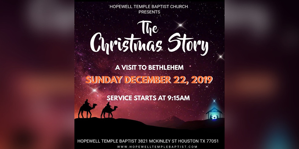 Youth Ministry Christmas Production