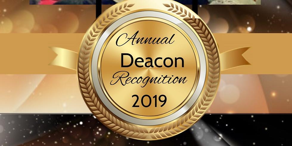 Deacon Recognition Sunday