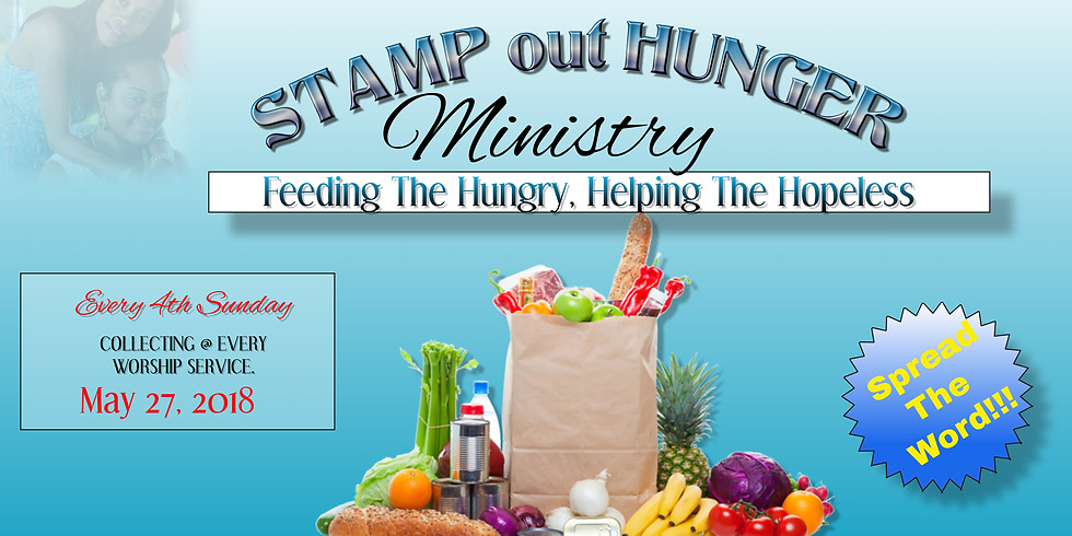 """""""Stamp Out Hunger"""""""