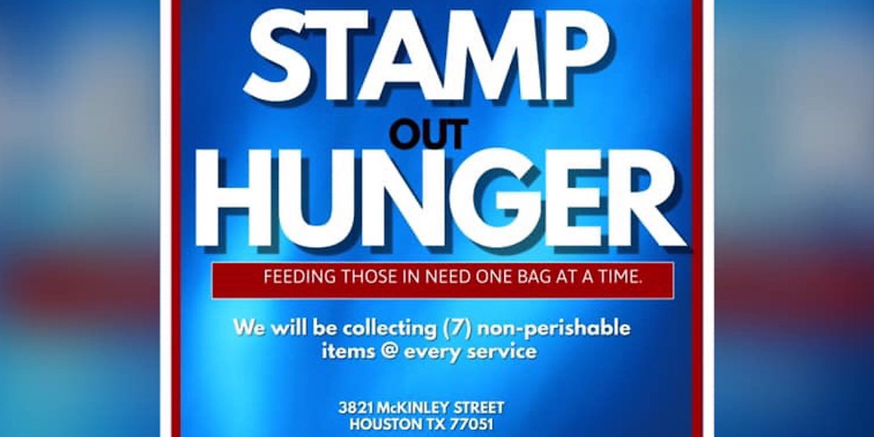 Stamp out Hunger Sunday