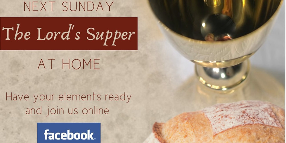 Virtual Lord's Supper