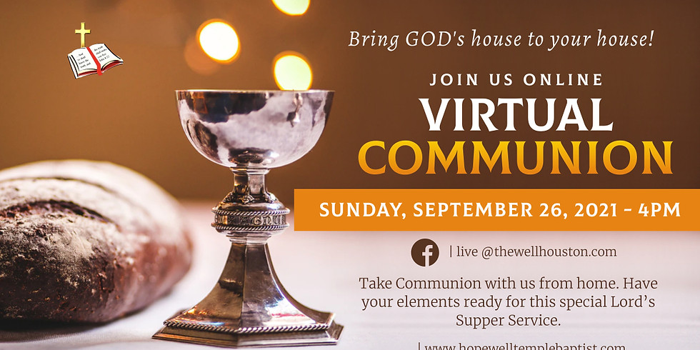 Virtual Lord's Supper (1)