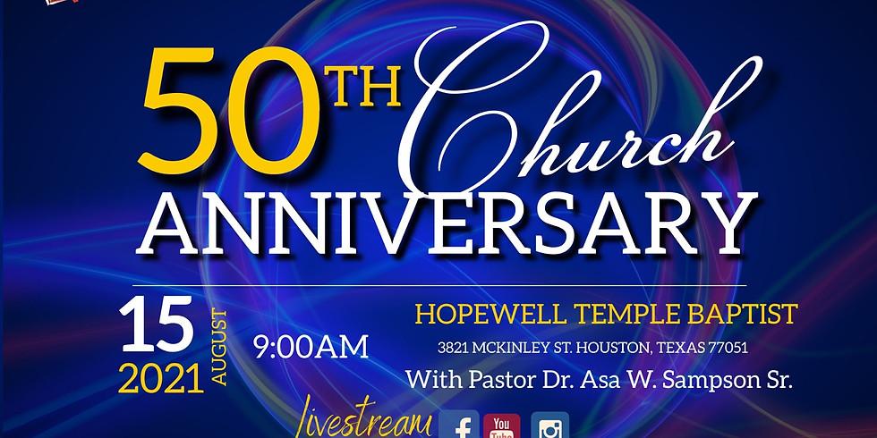 50th Church Anniversary
