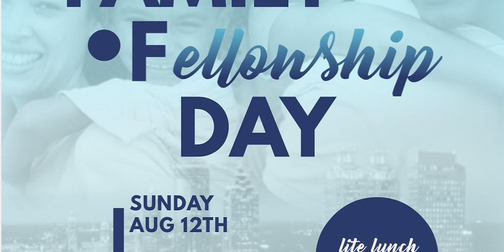 Family Fellowship Day