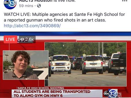 """Texas School Shooting...Closer to Home"""