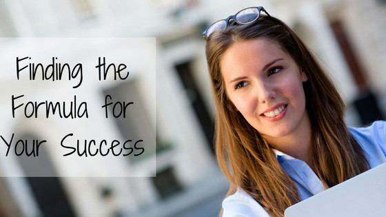 Finding the Formula for Your Success