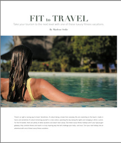 Fit to Travel