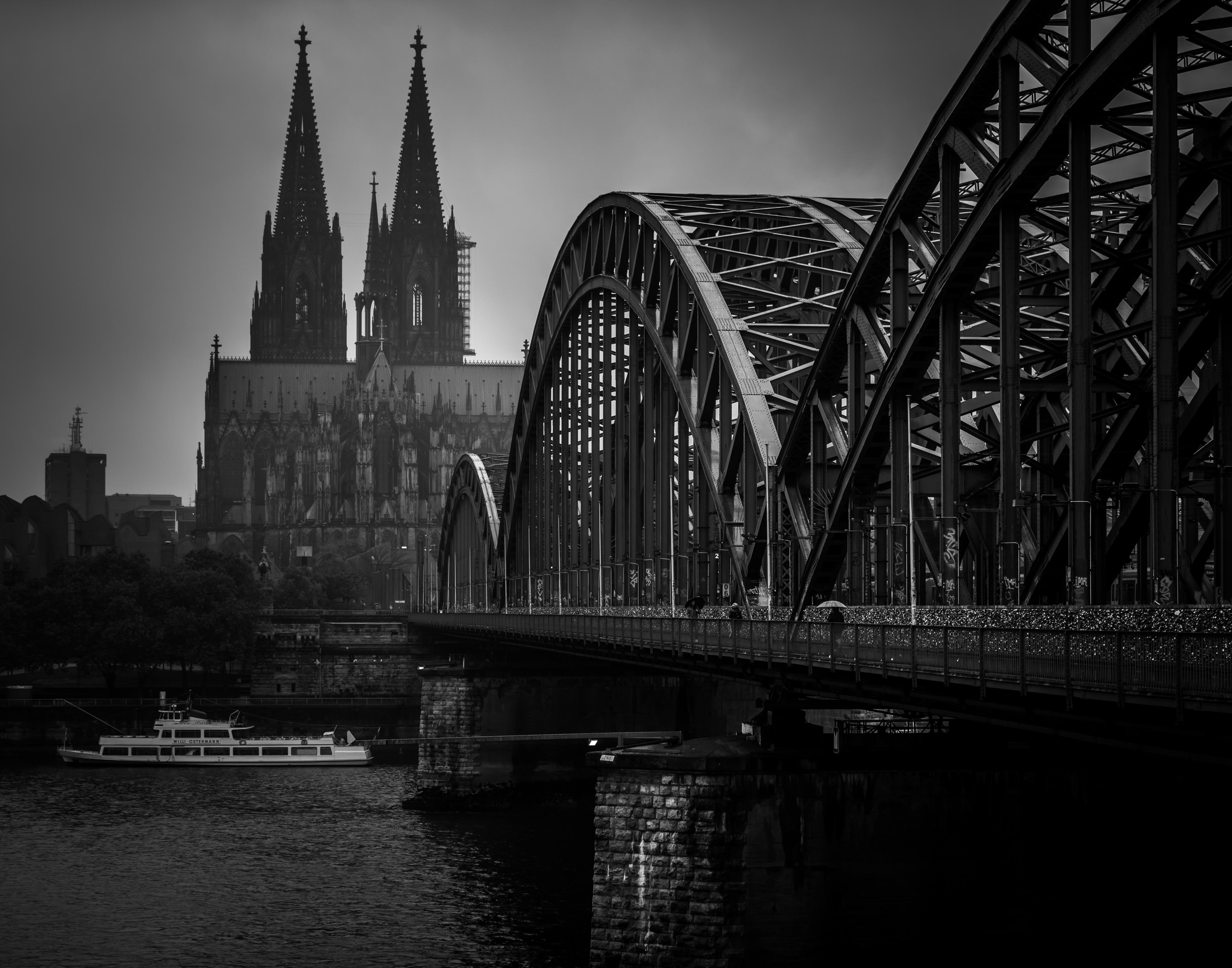 bridge over Rhien 14x11
