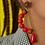 Thumbnail: Brinco Midi Color Vermelho